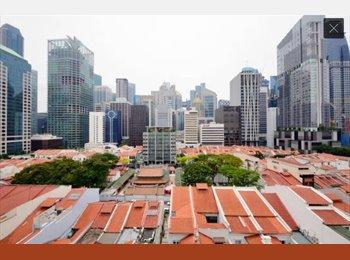 EasyRoommate SG - City views in expat apartment on Club Street CBD Raffles Place Chinatown Tanjong Pagar, Telok Ayer - $1,950 pm