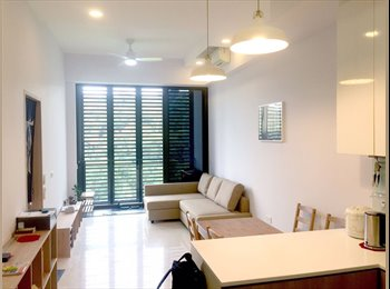 EasyRoommate SG - NEAR Hillview MRT station! 6 Hillview Rise at The Hillier Condominium common room for rent! , Hillview - $800 pm