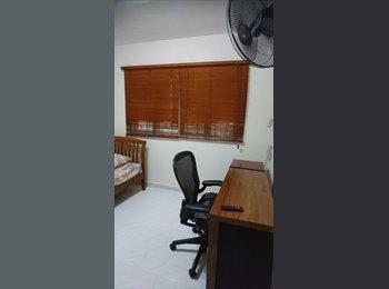 EasyRoommate SG - Near kembangan mrt ,single bed room for rent, Kembangan - $600 pm