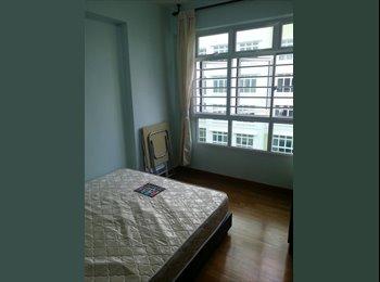 EasyRoommate SG - NEAR Buangkok MRT! 279c seng kang east avenue common room for rent! Aircon wifi! , Sengkang - $650 pm