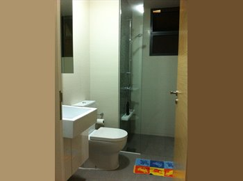 EasyRoommate SG - JR Master Room for rent in a New Condo just next to Simei MRT, Simei - $1,250 pm
