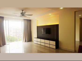 EasyRoommate SG - nice condo whole unit for rent with no agt fee , Woodleigh - $3,500 pm