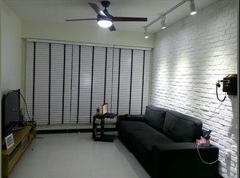 EasyRoommate SG - NEAR Pasir Ris MRT!  common room for rent! Aircon wifi!, Pasir Ris - $680 pm