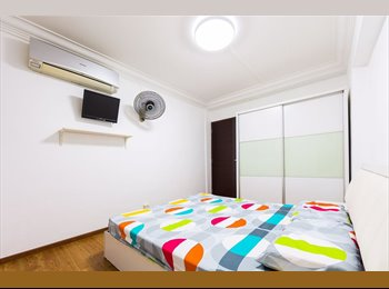 EasyRoommate SG - Aircon wifi available! 348 bukit batok st 34 common room for rent! , Bukit Gombak - $550 pm