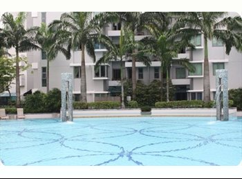 EasyRoommate SG - Beautiful pool view condo common room with full facilities 2 min to gombak mrt |10 mins jurong east, Bukit Gombak - $850 pm
