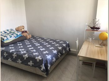 EasyRoommate SG - Blk 253, Simei Street 1, Near to Simei MRT Station, One common room to rent., Simei - $750 pm