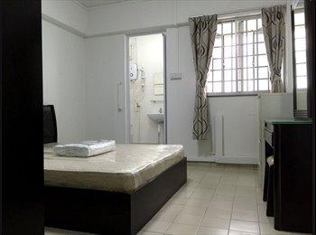 EasyRoommate SG - Newly Reno Master Room @ Yishun 3 Mins MRT $1000, Yishun - $1,000 pm