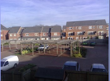 EasyRoommate UK - Nicely presented Db room in a Superb Townhouse Inc, Hulme - £405 pcm