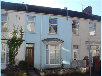 EasyRoommate UK - Lovely Large Five bed house near City Centre, Swansea - £270 pcm