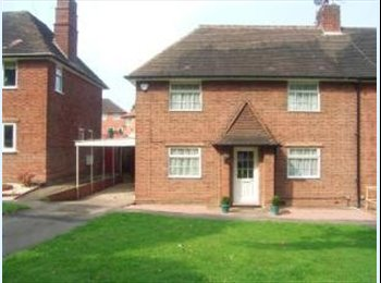 EasyRoommate UK - 2 Double Rooms in Lovely Houseshare from £380 pm, Weoley Castle - £385 pcm