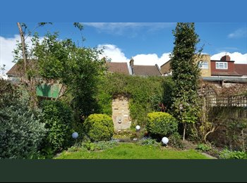 EasyRoommate UK - Housesharing with beautiful designed garden - not only a flat or a room, Newbury Park - £750 pcm
