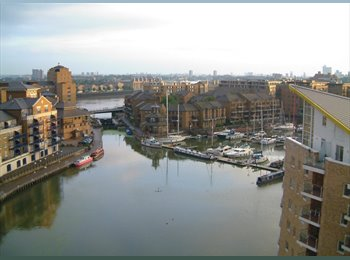 EasyRoommate UK - Limehouse Basin, between City and Canary Wharf, Limehouse - £900 pcm