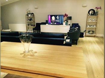 EasyRoommate UK - Double room in large luxury penthouse, Hanwell - £850 pcm