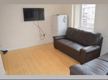 EasyRoommate UK - ROOM IN STUDENT HOUSE SHARE IN HEATON AVAILABLE FROM 28/07/17 - £300/£360pcm BILLS INC., Heaton - £300 pcm