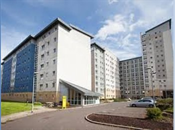 EasyRoommate UK - Student Accommodation available 10th May - 30th June. Ensuite room at Buchanan View, Glasgow, Glasgow - £476 pcm