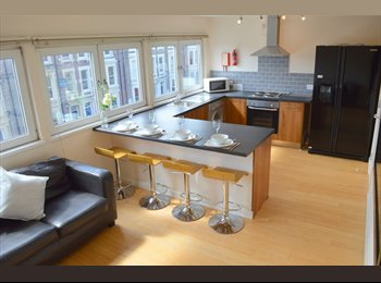 EasyRoommate UK - ROOM IN STUDENT FLAT IN JESMOND, AVAILABLE 01/07/17 - £95pw, Princess Square - £412 pcm
