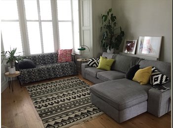 EasyRoommate UK - All Inclusive Large double room with en suite in large flat with garden, Stoke Newington - £1,000 pcm