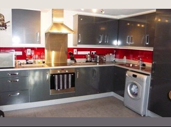 EasyRoommate UK - Double room available in beautiful duplex flat, Newport Pagnell - £575 pcm