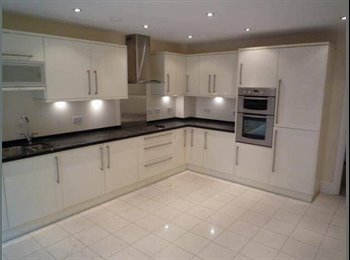 EasyRoommate UK - Large Double Room for rent in 3 storey town house , Weston - £520 pcm