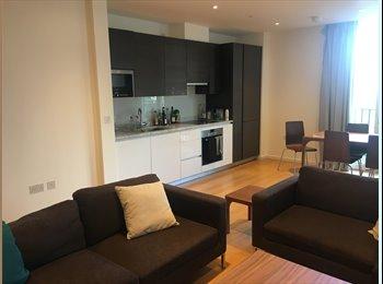 EasyRoommate UK - Spacious modern flat in Olympic Village, Straford, Stratford - £865 pcm