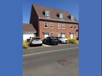EasyRoommate UK - Large Double room in modern townhouse, Shard End - £500 pcm