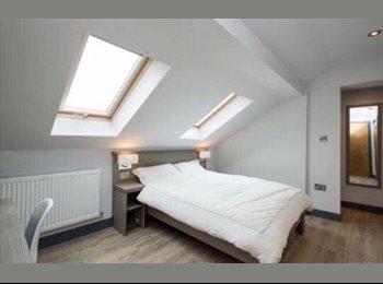 EasyRoommate UK - En-suite room in a ten person flat in Nottingham city centre, Hockley - £540 pcm