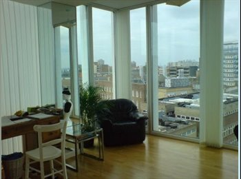 EasyRoommate UK -        Single room for rent South East London, Woolwich Arsenal, private bathroom and river view, Woolwich - £500 pcm