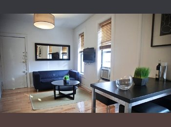 EasyRoommate US - One room in a Sun Drenched 3 Bedroom, 1.5 Bath Apartment!, Nolita - $1,700 pm