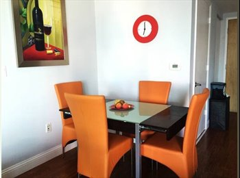 EasyRoommate US - 1500(PLUS DEPOSIT) MASTER ROOM, PRIVATE BATH AND BALCONY!!, Downtown - $1,500 pm