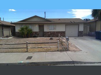 EasyRoommate US - 2 Furnished Bedrooms, All Utilites Included, New Carpet and Paint!, Henderson - $395 pm