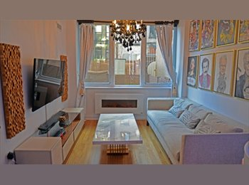 EasyRoommate US -  Full Luxury High Rise+Bran New Condo finishes+High floor+Steps2train, East Harlem - $1,250 pm