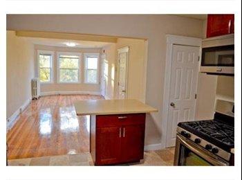 EasyRoommate US - Jamaica Plain renovated apartment, 2 bedroom apartment, both rooms empty, Egleston Square - $1,050 pm