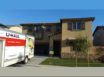 EasyRoommate US - Rooms available in brand new 3200 square foot home., Colton - $800 pm