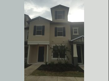 EasyRoommate US -  New Townhouse- Rooms available -  Near Airport, VA, Medical Center, Meadow Woods - $700 pm