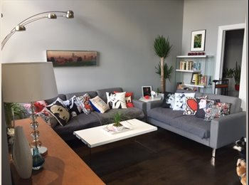 EasyRoommate US - Professional, Gay Male With Unique Duplex Loft in Chicago (Uptown) Seeks Roommate for Spare Bedroom, Uptown - $1,000 pm