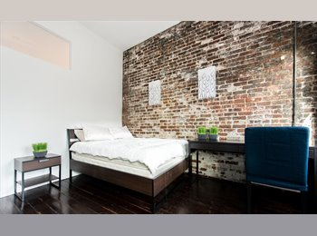 EasyRoommate US - Room In Furnished & Equipped  6 Bedroom, 2 Bath Loft ! Soho , Little Italy - $2,050 pm