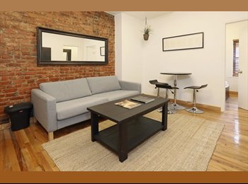 EasyRoommate US - Available Now ! Fully Furnished - Sunny 3 Bedroom Apartment! Soho ! , Nolita - $1,450 pm