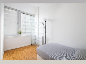 EasyRoommate US - Great room for one! Access to the gym and rooftop!, Financial District - $1,350 pm