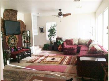 EasyRoommate US -  welcome peaceful  comfy  friendly HOME $800 move in (4bdr home N, las vegas), Los Prados - $500 pm