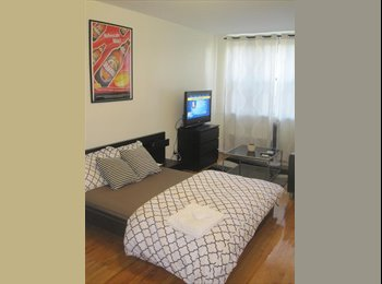 EasyRoommate US - Private Furnished Elevator Studio (NOT SHARED), Bowery - $3,150 pm