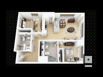 EasyRoommate US - Amazing 2 bedroom 2 bath apartment!, Shawmut - $3,678 pm