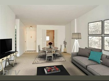 EasyRoommate US - In Downtown Stamford one single room for rent in two bed room nice apartment, Stamford - $1,100 pm