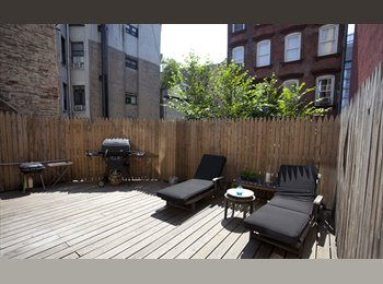 EasyRoommate US - Available Now ! Room In Fully Furnished Sun Drenched 3 Br Apt, Private Terrace ! , Nolita - $1,500 pm