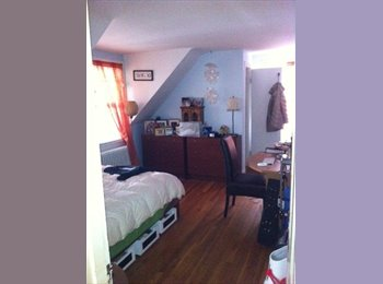 EasyRoommate US - Room Avail. Now in large CARRIAGE HOUSE, ideal location, Lower Allston - $1,150 pm
