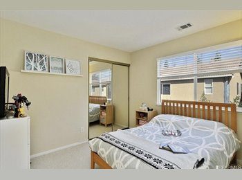 EasyRoommate US - Furnished room for rent across from BART, San Leandro - $1,300 pm