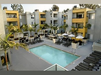 EasyRoommate US - Roomate Wanted in West Hollywood, Amazing Location w/ Parking, Gym and Pool, West Hollywood - $1,530 pm