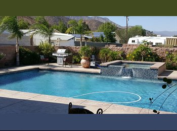 EasyRoommate US - Comfortable room with Pool and Jacuzzi to Enjoy, Wildomar - $650 pm