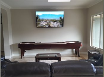 EasyRoommate US - LUX Furn.  Room/private bath-near Strip-Airport POOL all stone tile , Enterprise - $575 pm