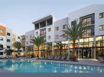EasyRoommate US - UPark Luxury Apartments - Short Term Rental - $780 a month, Boca Raton - $780 pm