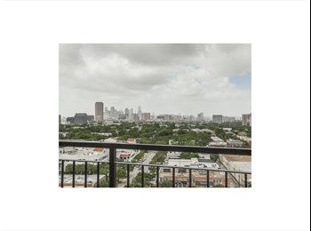 EasyRoommate US - High Rise Luxury Condo in Dallas' Best Location , Knox/Henderson - $1,300 pm